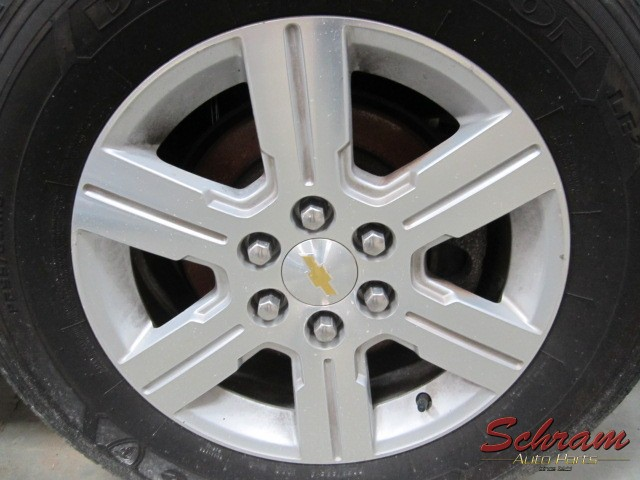 2011 TRAVERSE Wheel 18x7-1/2 (aluminum)