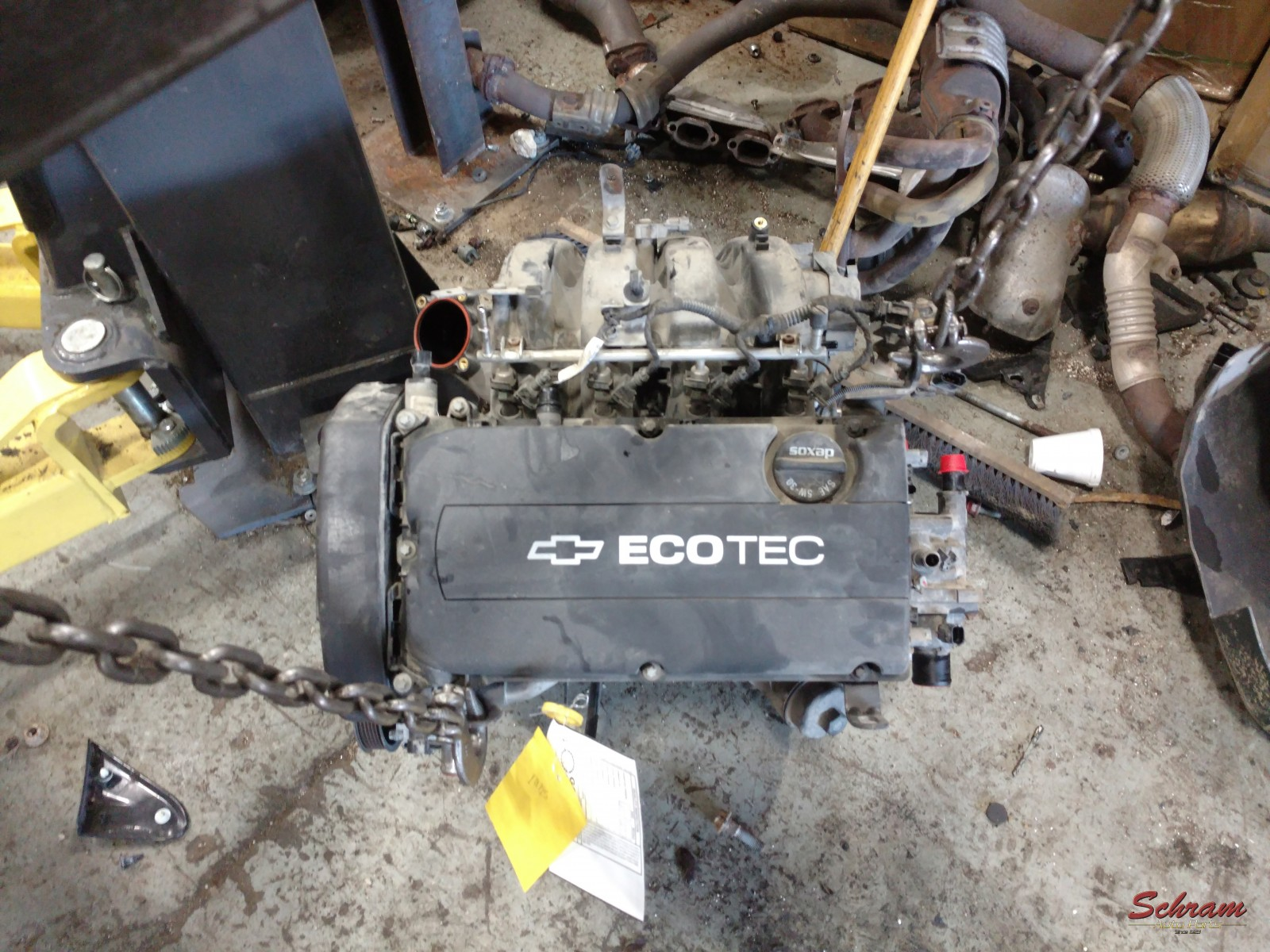 2013 SONIC Engine Assembly AT
