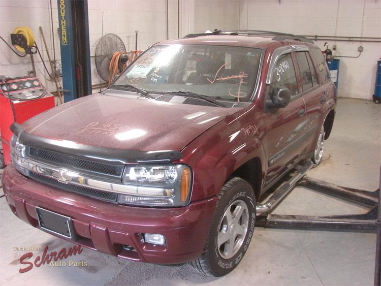 2004 Chevrolet Trailblazer EXT Blower Motor
