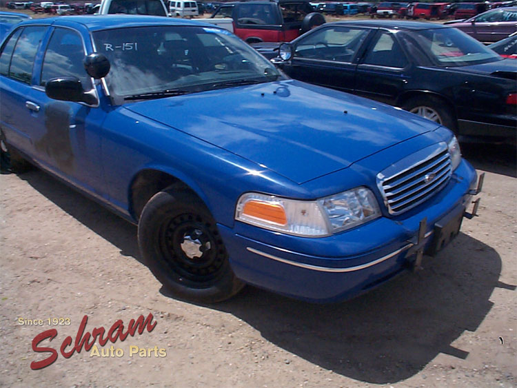 1998 Ford Crown Vic Blower Motor