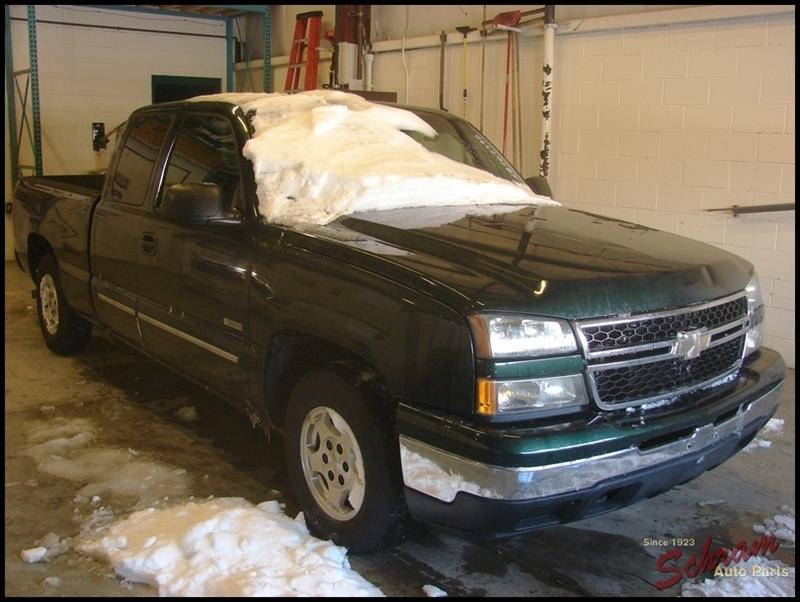 2006 Chevrolet Silverado 1500 Coil Air Spring