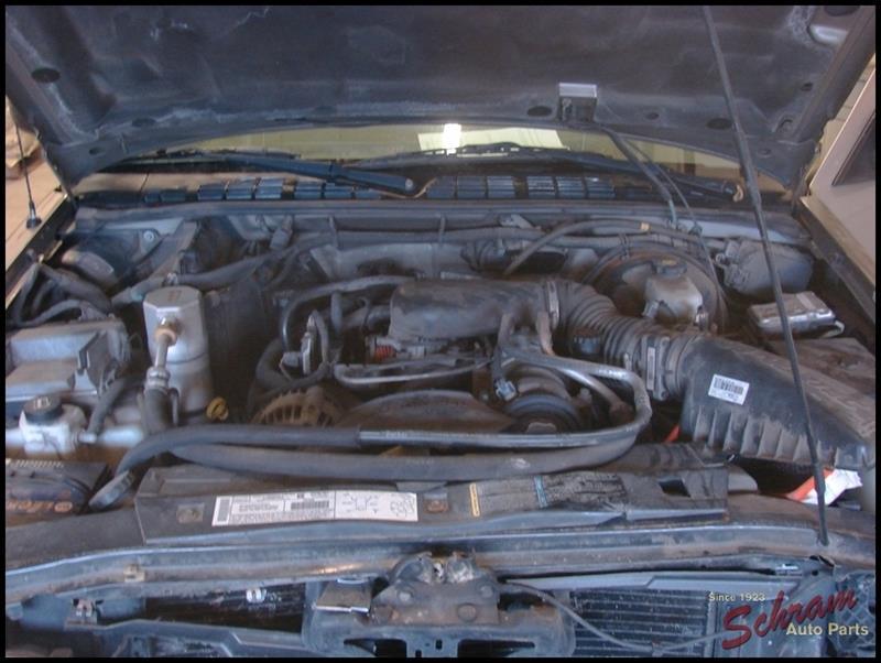 2003 Chevrolet S10 Pickup Leaf Spring Rear